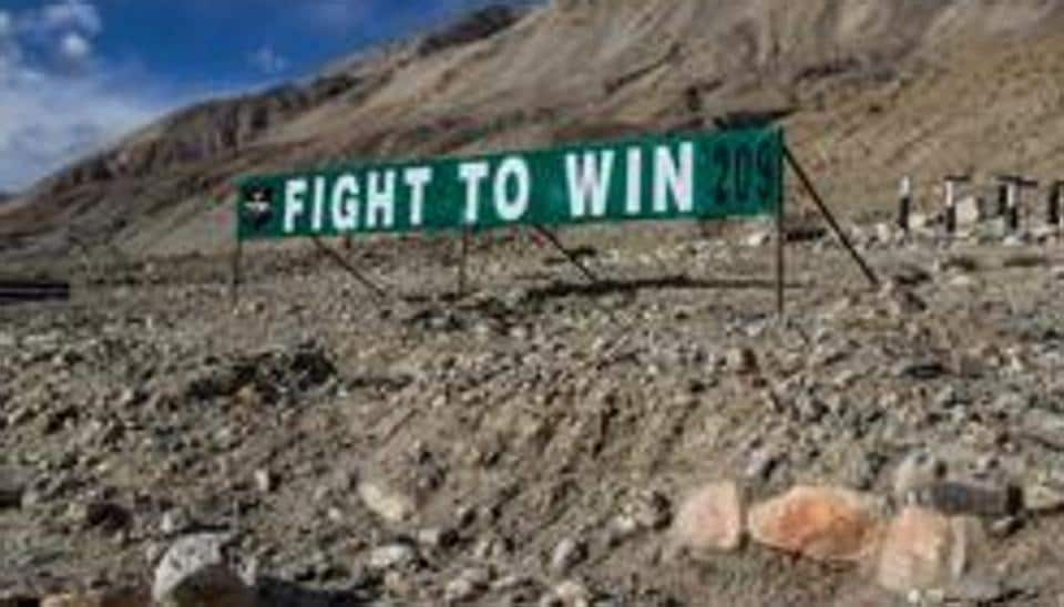 A standoff between Indian and Chinese troops  along the Line of Actual Control (LAC)in Ladakh  has ben festering for weeks.