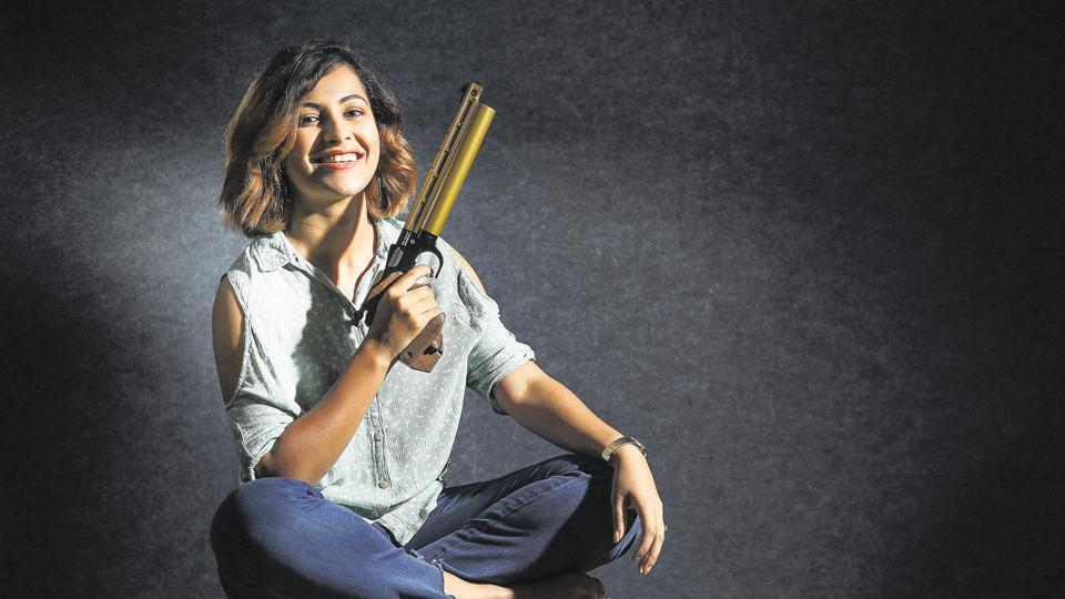 File photo of Heena Sidhu.  (PHOTO BY RAAJESSH KASHYAP/ HT)