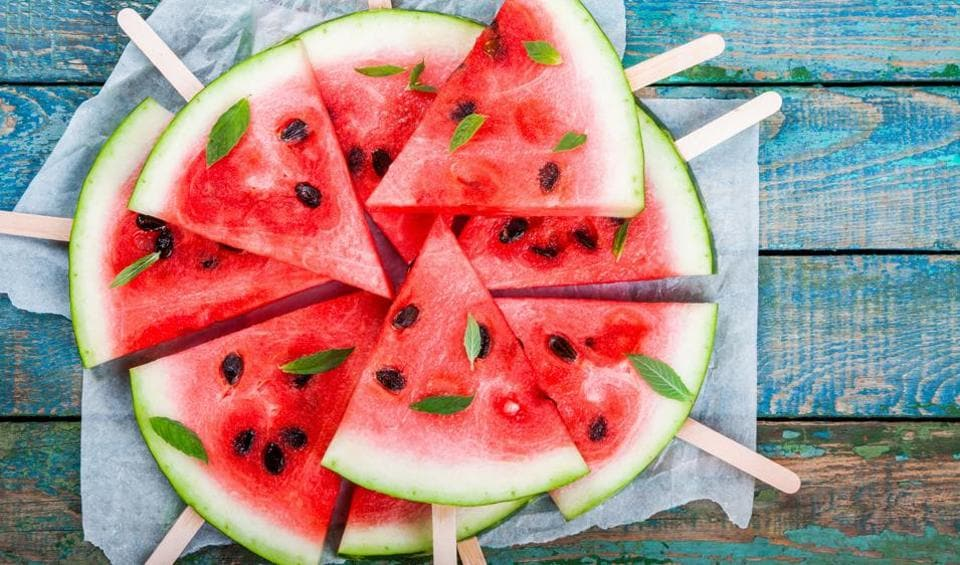 Watermelon is perfect for summers