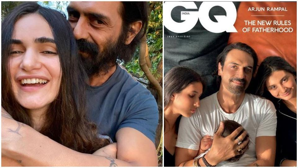 Arjun Rampal poses with all 3 kids on magazine cover clicked by girlfriend Gabriella: 'With my favourite people'