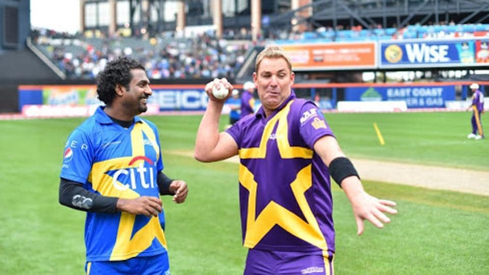 Muralitharan and Shane Warne