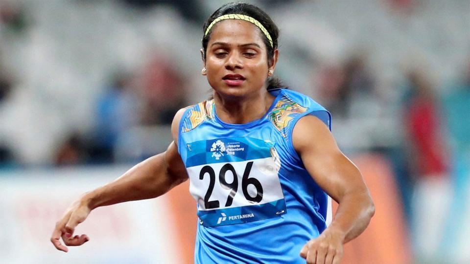 India sprinter Dutee Chand.
