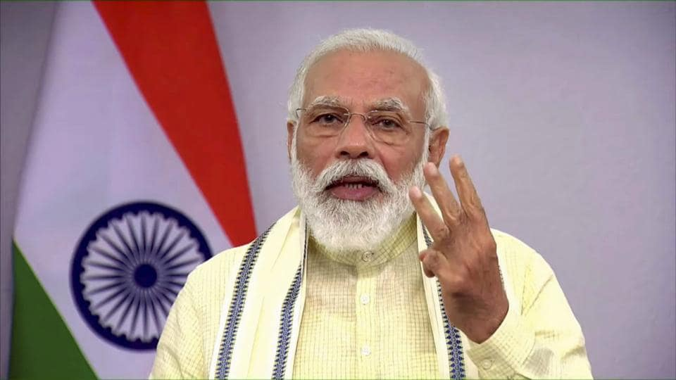 Prime Minister Narendra Modi on Tuesday reviewed India's preparations for vaccinating its vast population against the coronavirus disease