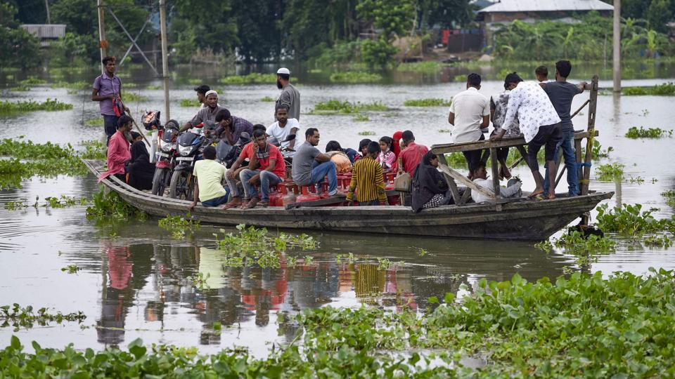 According to the Central Water Commission (CWC), the Brahmaputra continued to flow above the danger mark at Nematighat, Tezpur, Guwahati, Goalpara and Dhubri.