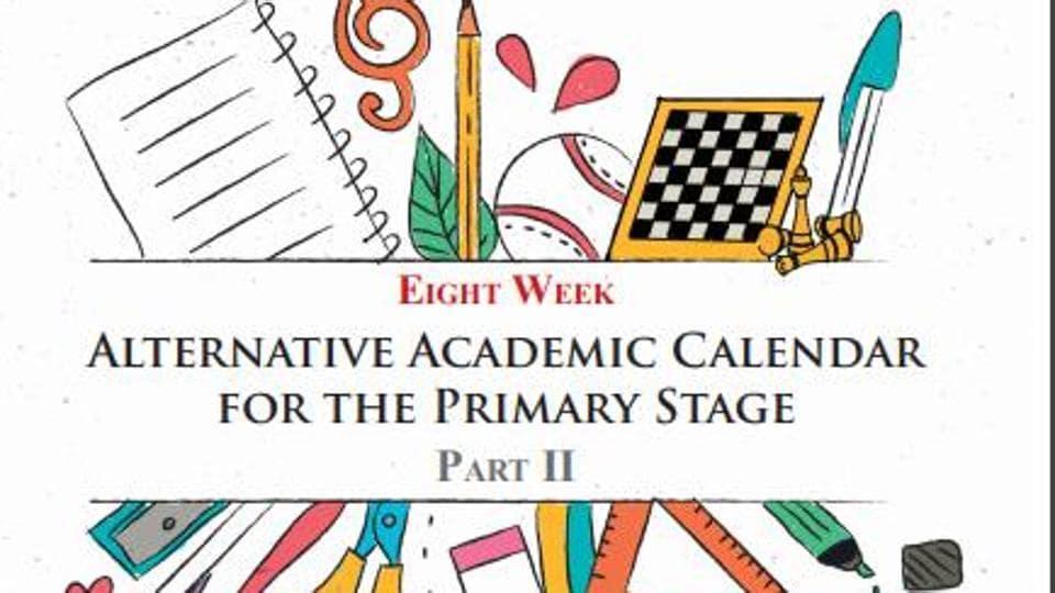 NCERT alternative academic calendar for primary stage.
