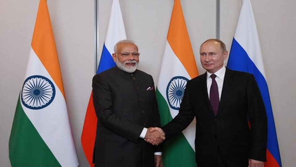 During their conversation, PM  Modi congratulated Russian president Putin on the success of the celebrations marking the 75th anniversary of the victory of the Allied Forces in the World War 2.