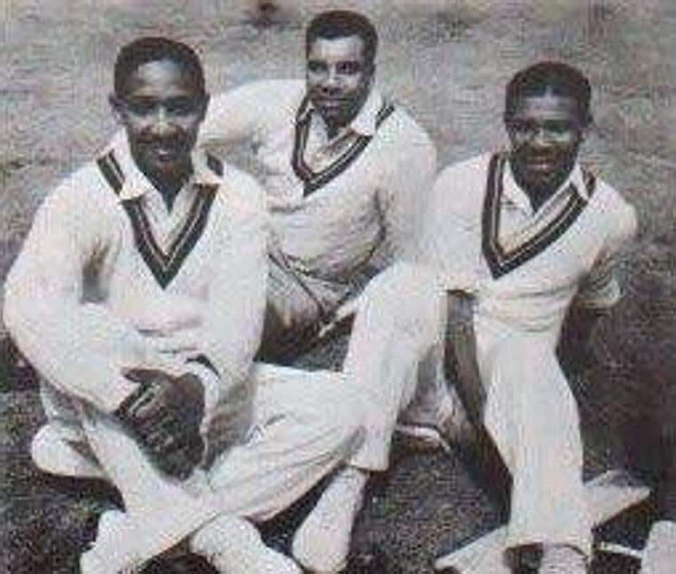 In his career, Weekes played 48 test matches and made 4,455 runs at an average of 58.61 per innings. That included a world-record five consecutive centuries in 1948 — scores of 141 against England in Jamaica, followed by scores of 128, 194, 162 and 101 in India.  (Twitter/West Indies)