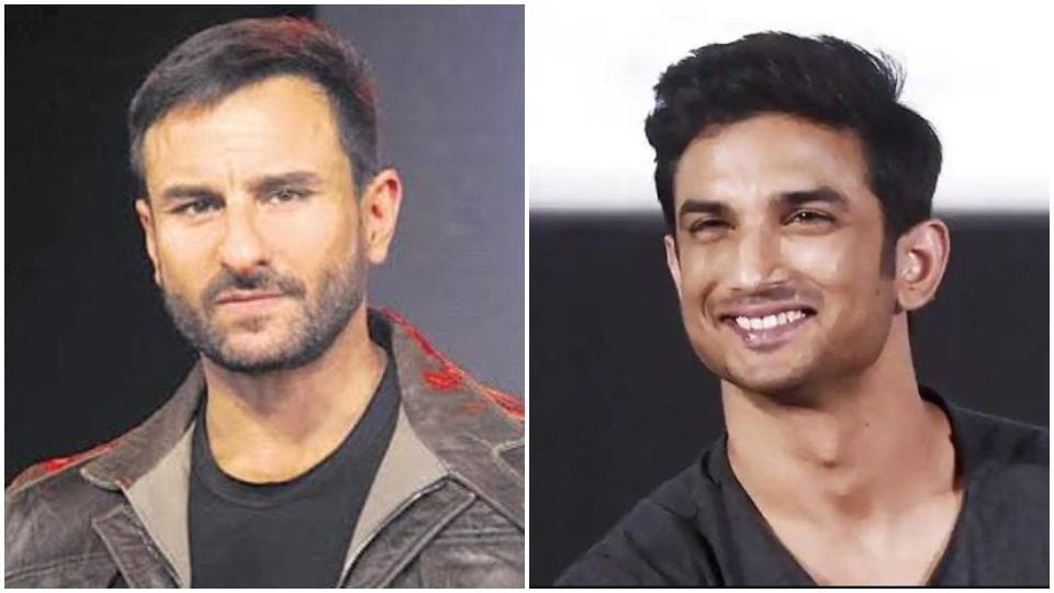 Saif Ali Khan will be seen with Sushant Singh Rajput in Dil Bechara.