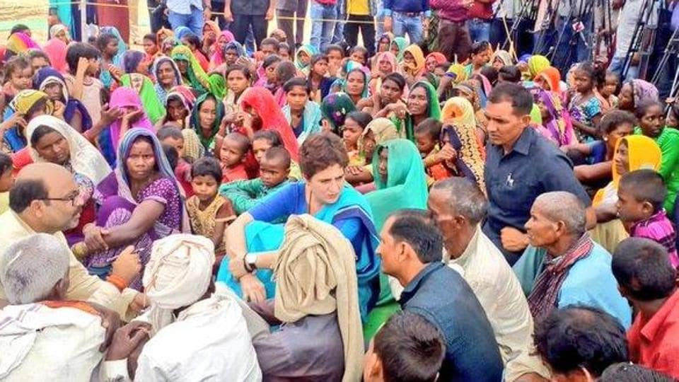 Priyanka Gandhi has been active on the ground in Uttar Pradesh. Just recently, she had a run-in with the local administration over organising buses to transport migrant workers stranded in other states back to Uttar Pradesh. (Photo @AjayLalluINC)