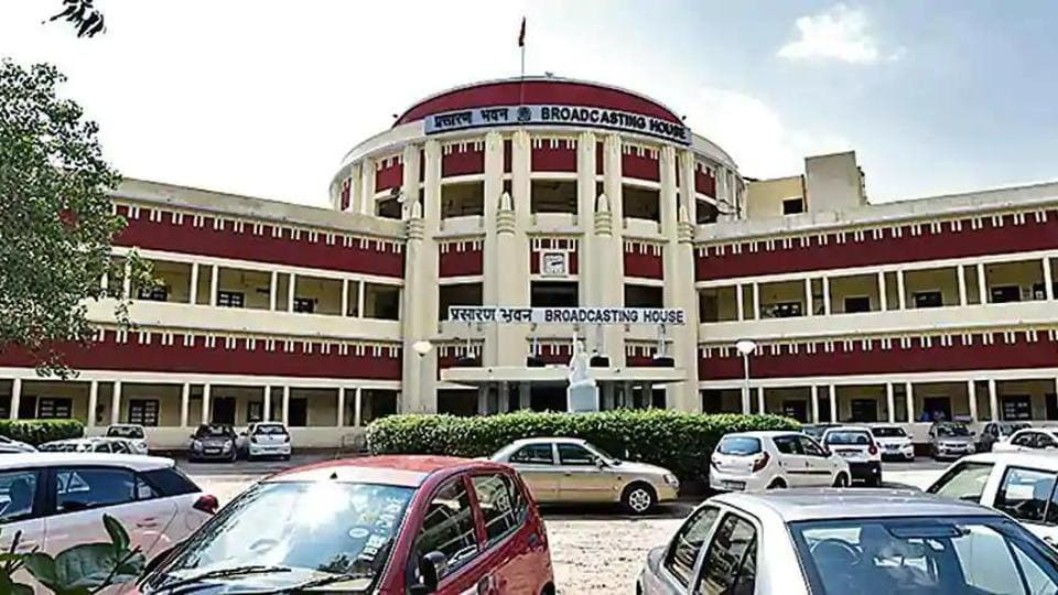All India Radio (AIR) office, in New Delhi. (HT File Photo)