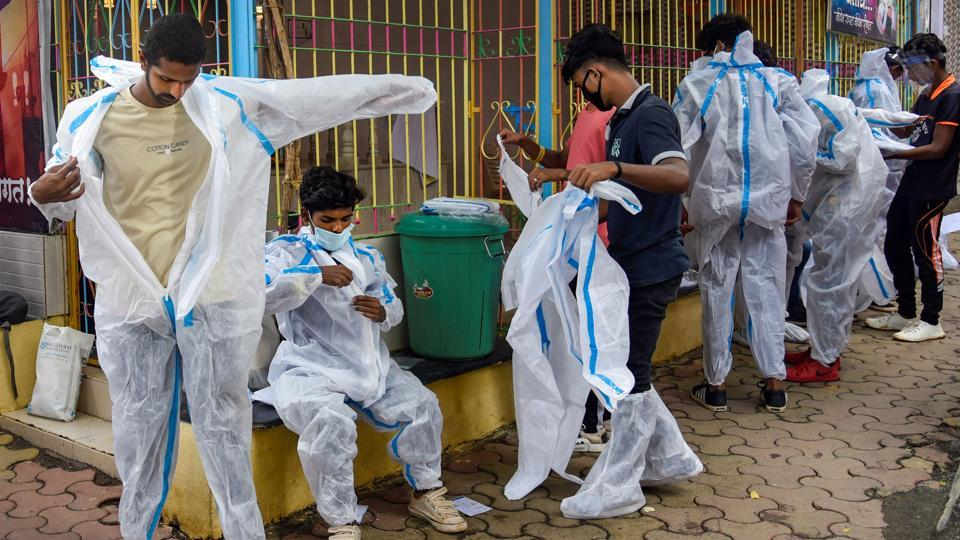 Maharashtra has to enforce hard lockdown in several areas to contain the spread of coronavirus
