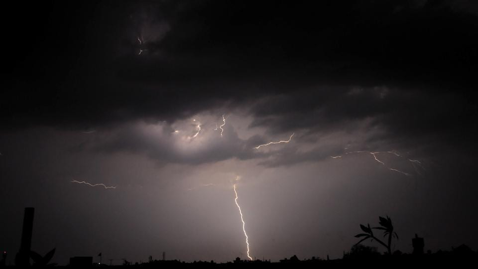 IMD said that thunderstorm with rain would occur in parts of Uttar Pradesh and Haryana.