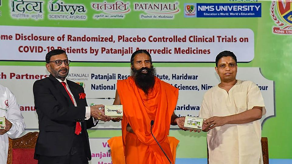 On Wednesday, Ramdev reaffirmed that Patanjali followed all legal procedures in carrying out clinical control trials of the drugs on Covid-19 positive patients.