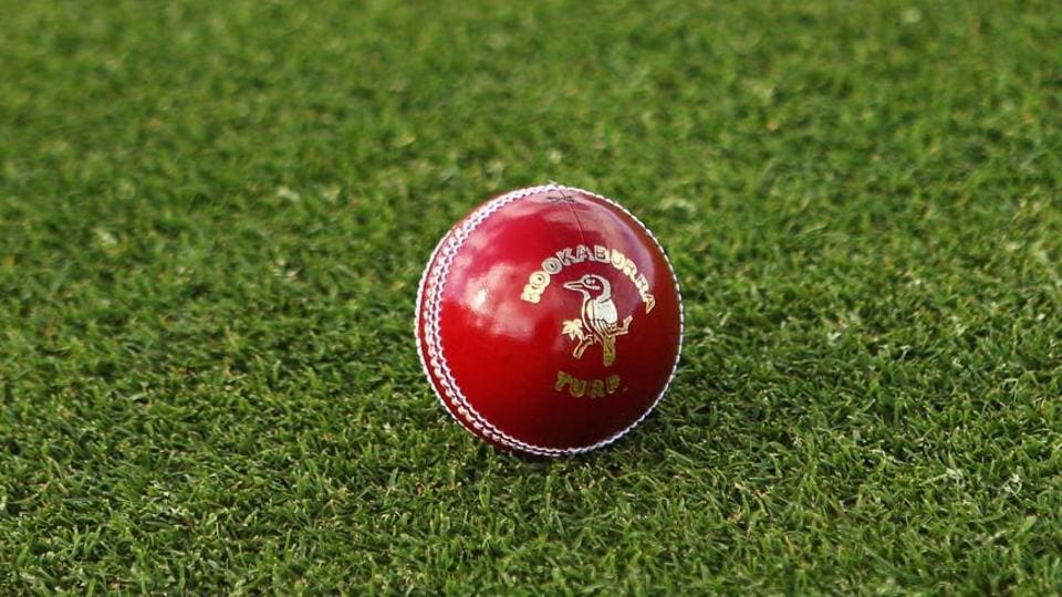 HOBART, AUSTRALIA - MARCH 17: A general view of a Kookaburra turf four piece cricket ball is seen before play on day one of the Sheffield Shield final match between the Tasmanian Tigers and the New South Wales Blues at Bellerive Oval on March 17, 2011 in Hobart, Australia.