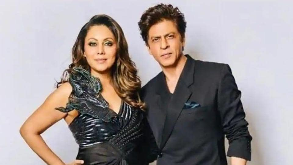 Shah Rukh and Gauri Khan are currently isolating at their Mumbai home.