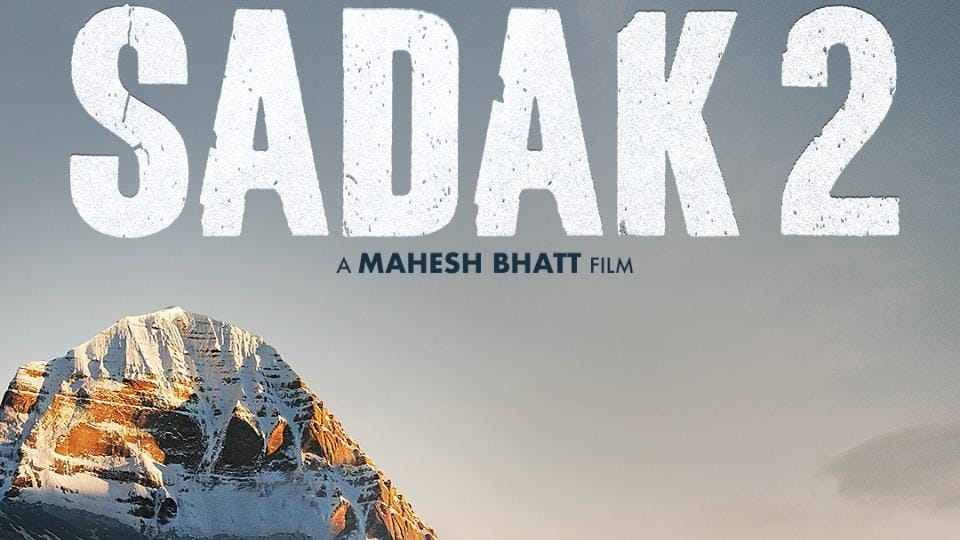 Sadak 2 poster features Mount Kailash.