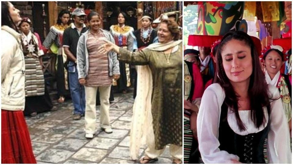 Kareena Kapoor worked with Saroj Khan in Jab We Met, for which the choreographer won the National Award.