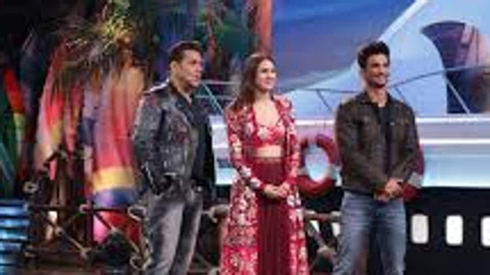Video from Kedarnath promotions emerges online as Sushant Singh Rajput interacts with Salman Khan on Bigg Boss