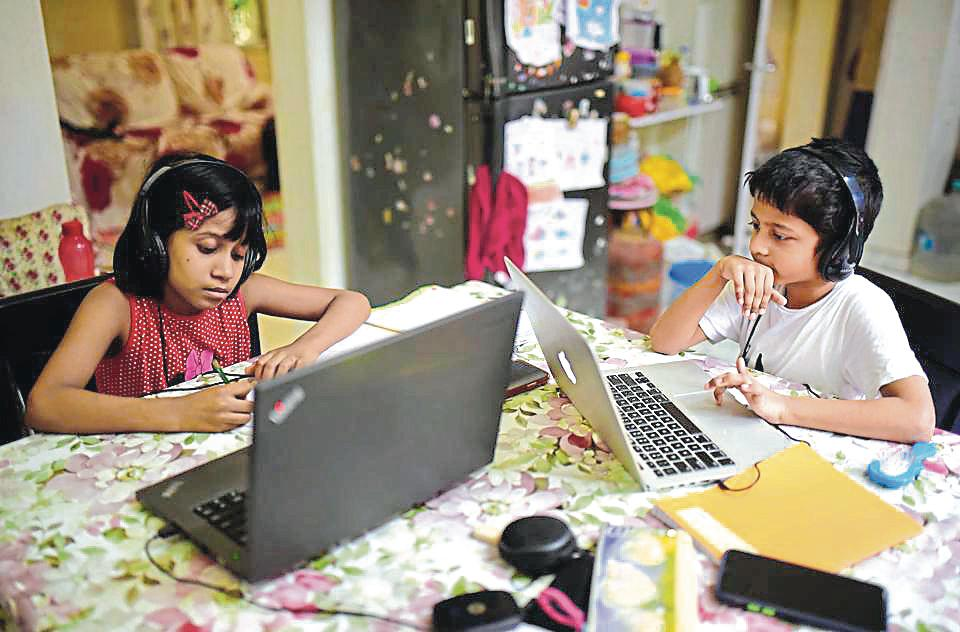 With schools in the district slated to remain closed till July 31, some households are faced with an academic blackout in the absence of technology.