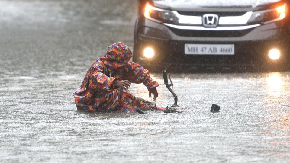 The civic body has appealed to Mumbaikars not to venture into waterlogged areas, steer clear of gutters, sewerage lines, and debris lying strewn on the streets.