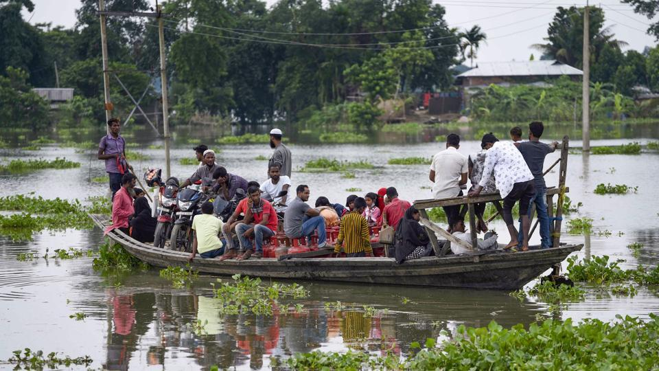 According to Assam State Disaster Management Authority (ASDMA), over 1.3 million people in 20 of the state's 33 districts are still affected by floods.
