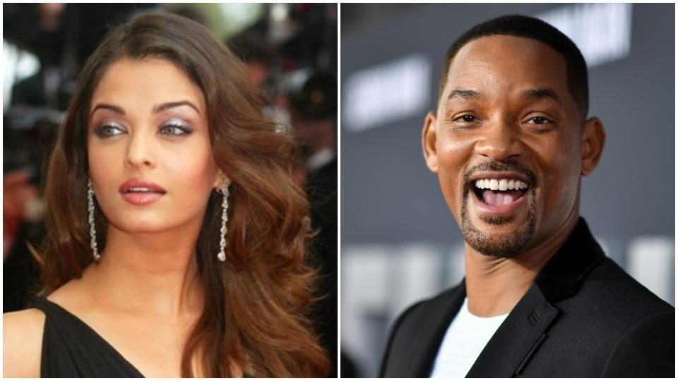Aishwarya Rai and Will Smith have been looking to work with each other.