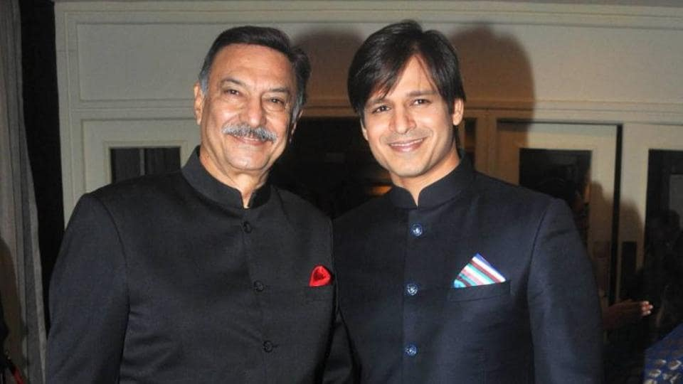 Vivek Oberoi is the son of actor Suresh Oberoi.