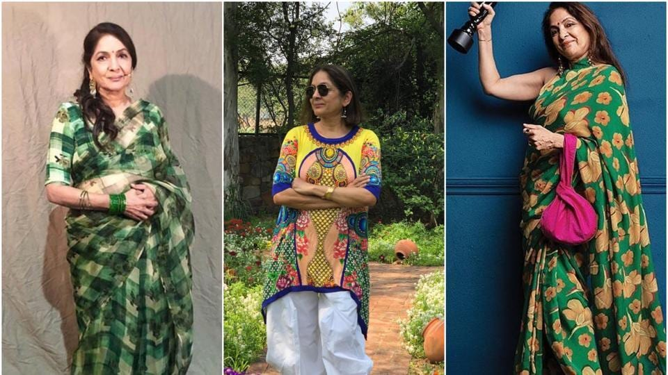 Have A look at the versatile fashion icon Neena Gupta's best ensembles