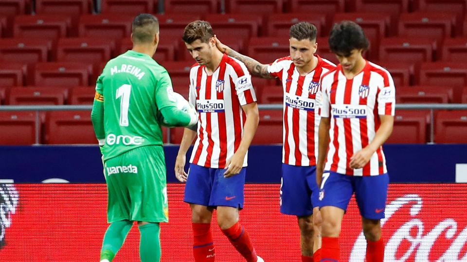 Morata double leads Atletico to 3-0 win over Mallorca in Liga