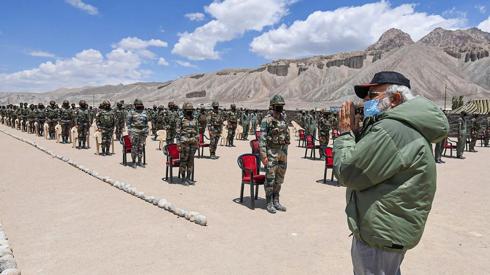 It is understood that Prime Minister Modi gave a message to the Ladakh commanders that they should not initiate any escalation from their side but should definitely retaliate to any aggression.