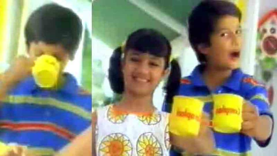 Ayesha Takia and Shahid Kapoor in a still from the Complan ad.