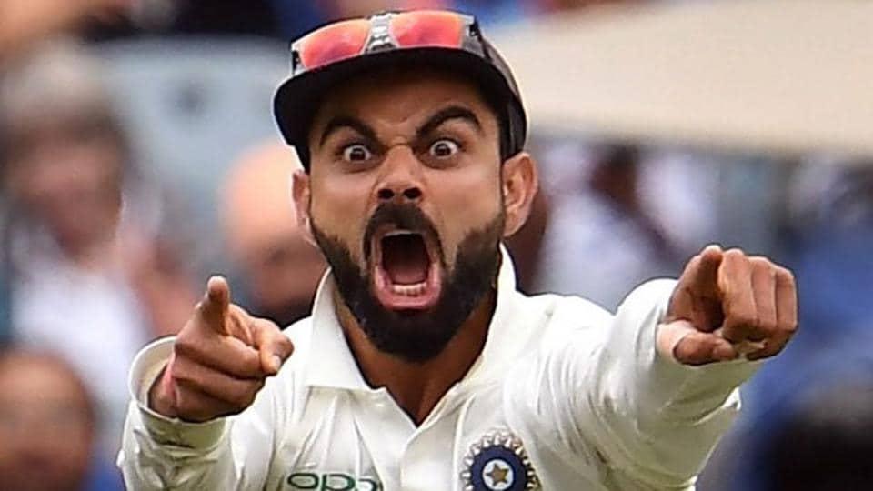 India captain Virat Kohli has never shied from hiding his emotions.