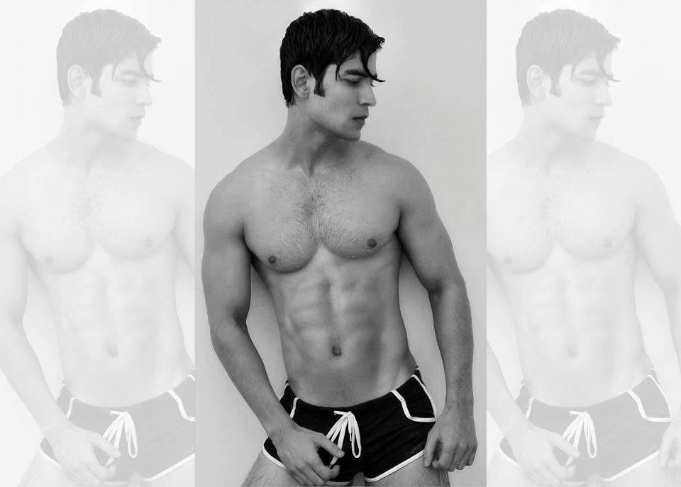 Model: Imrann Ahmad (A commercial model and aspiring actor)