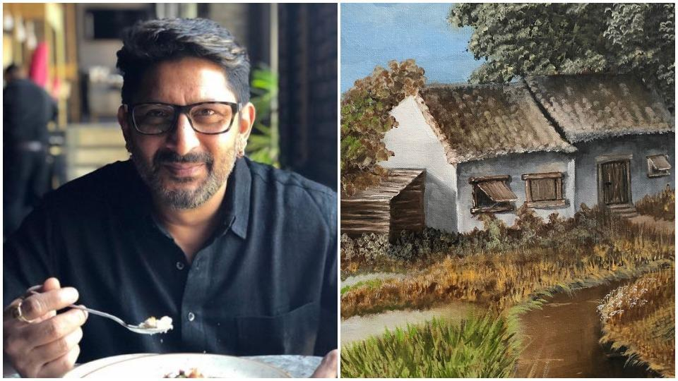 Arshad Warsi asks fans to buy his paintings so he could pay his Rs 1 lakh electricity bill, reserves his kidneys for next month