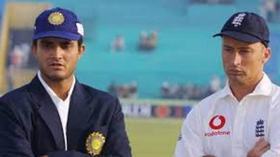 File image of Nasser Hussain and Sourav Ganguly.