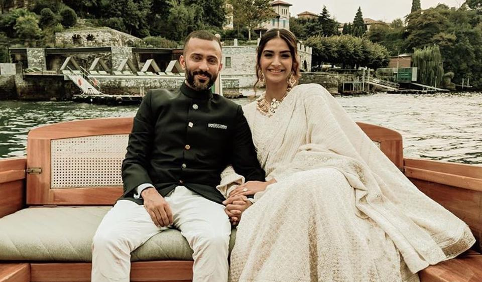 Sonam Kapoor said that Anand Ahuja takes a break from work every two hours to come and say hi to her.