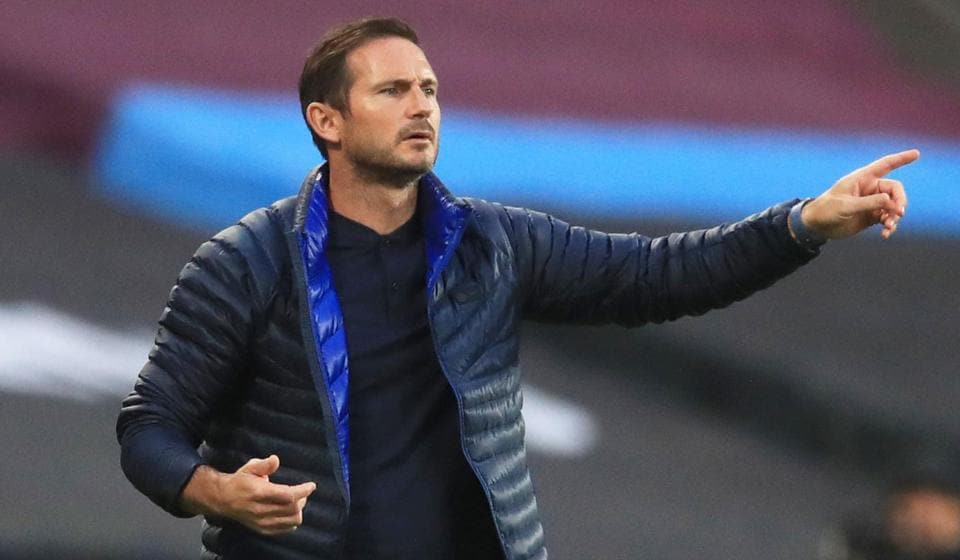 Frank Lampard, Chelsea FC manager.