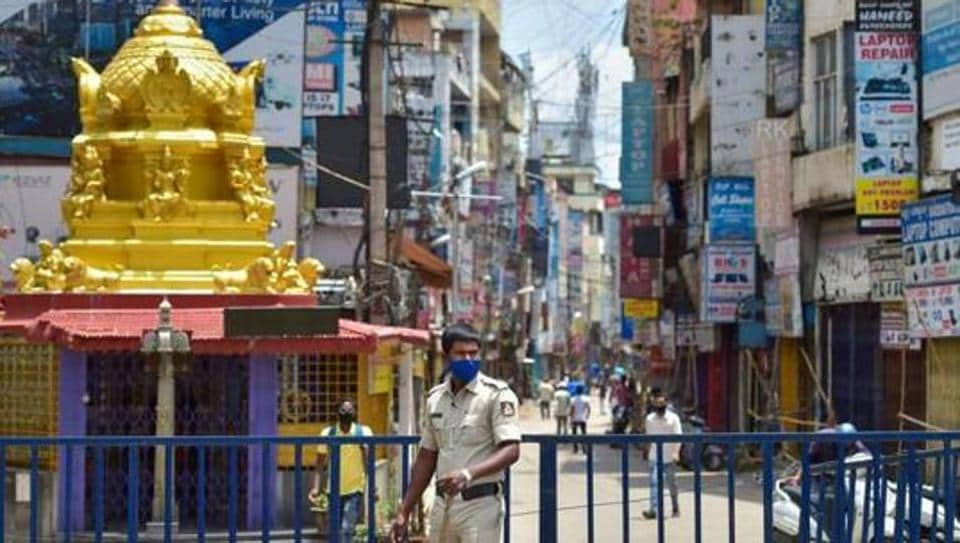 With Sunday's numbers, Bangalore accounts for more than 60 per cent of the state's 13,251 active cases.