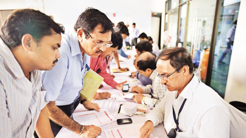 Tax department organised special camp for government employee to help file their Income Tax Returns (ITRs).