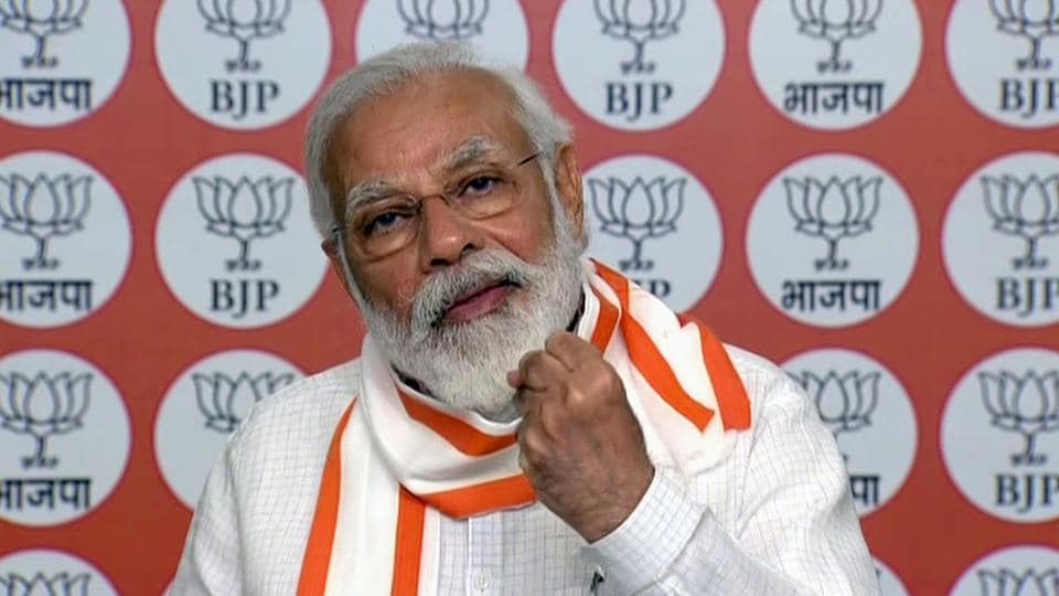 PM Modilauds BJP state units for 'putting nation first'