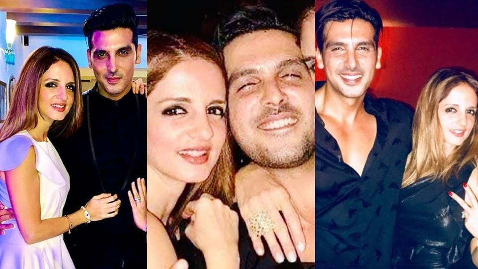 Sussanne Khan wished Zayed Khan on his birthday with a sweet post on Instagram.