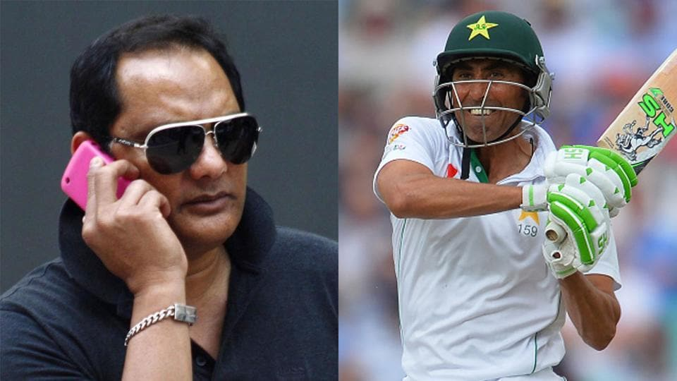 Younis Khan had revealed that Mohammad Azharuddin had called him up before the last Test of the England series in 2016.