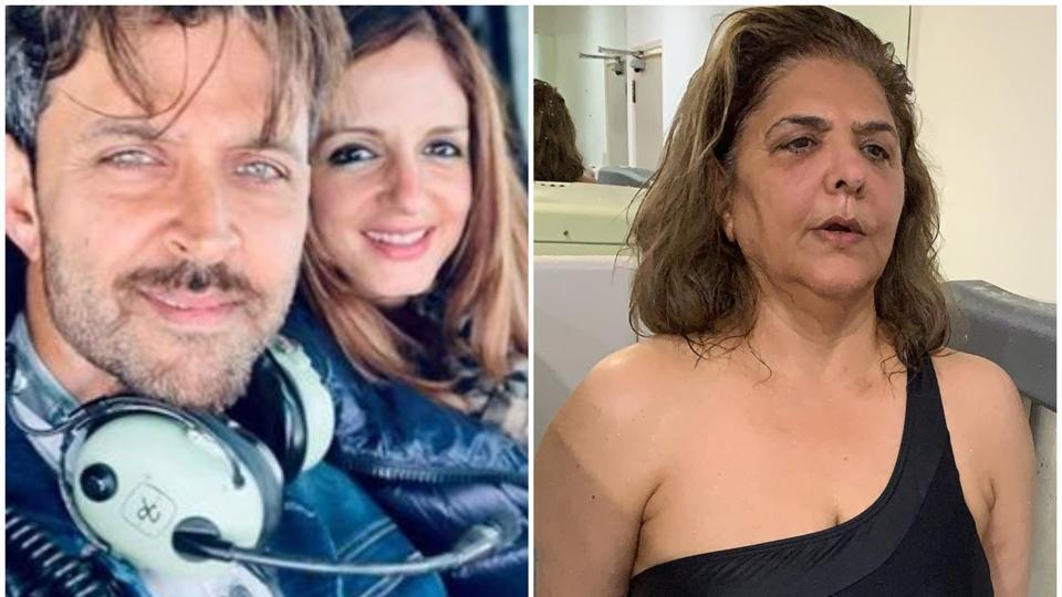 Sussanne Khan showers love on Hrithik Roshan's mom Pinkie, calls ...