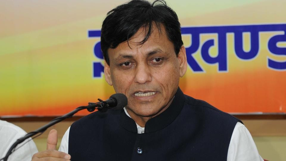 """Union minister Nityanand Rai said, """"the RJD-Congress will do better to stop spreading rumours about NDA."""""""