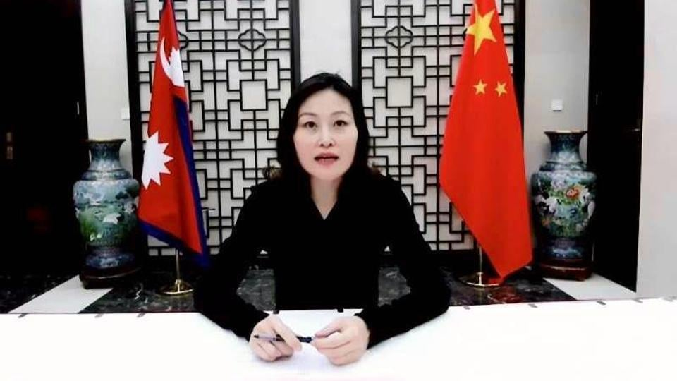China's envoy to Nepal Hou Yanqi held a series of meetings with leaders of the ruling Nepal Communist Party (NCP) in late April and early May after an internal rift in the party became public and threatened to lead to the ouster of Oli.
