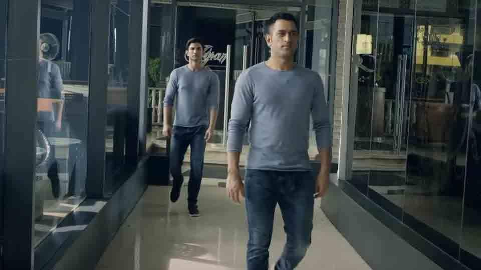 MS Dhoni joined Sushant Singh Rajput for a few promotional videos ahead of the release of his biopic MS Dhoni: The Untold Story in 2016. Sushant successfully copied his each move and gesture in the video. On the occasion of Dhoni's 39th birthday, here are some more pictures of the two.
