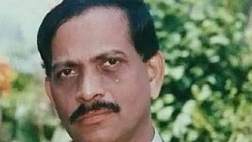 Goa's former health minister Dr Suresh Amonkar.