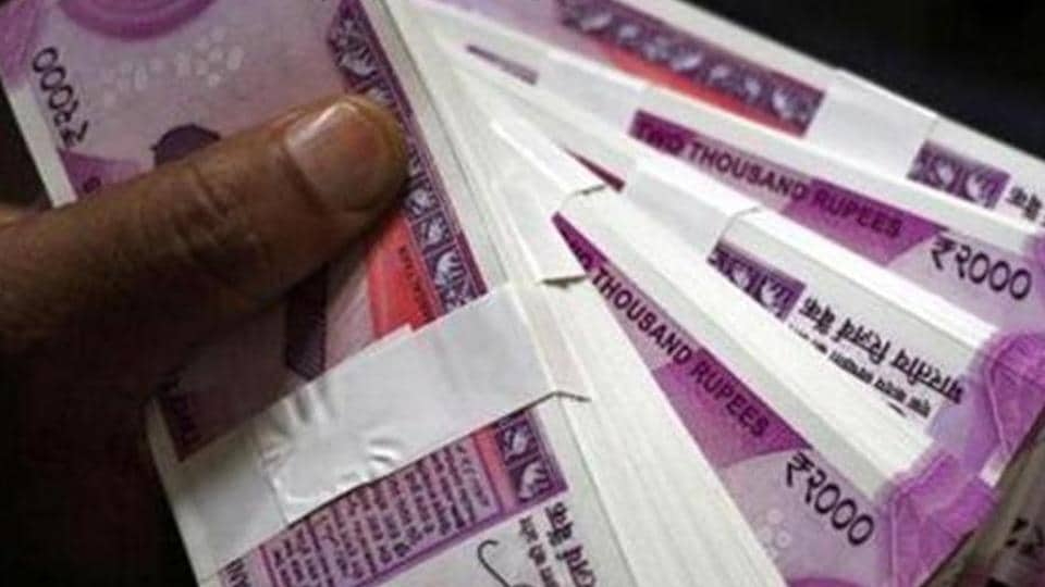 The rupee opened weak at 74.74 at the interbank forex market, down 6 paise over its last close.