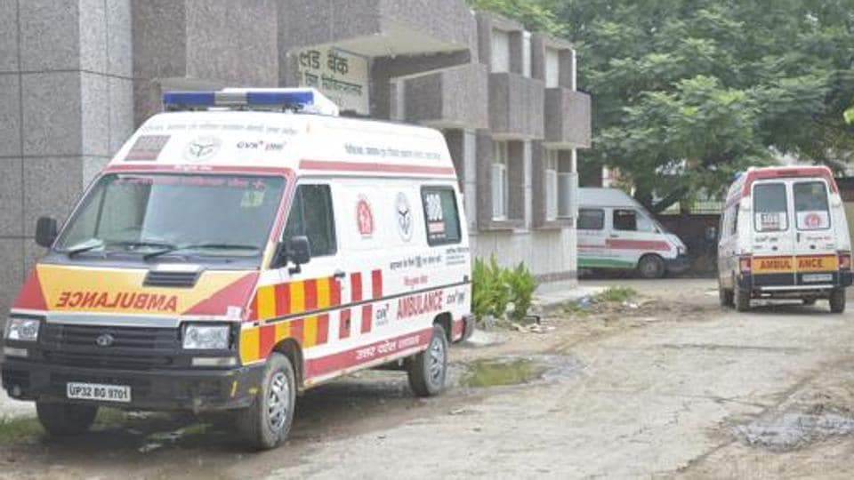 The woman's husband had died earlier on Tuesday due to coronavirus.