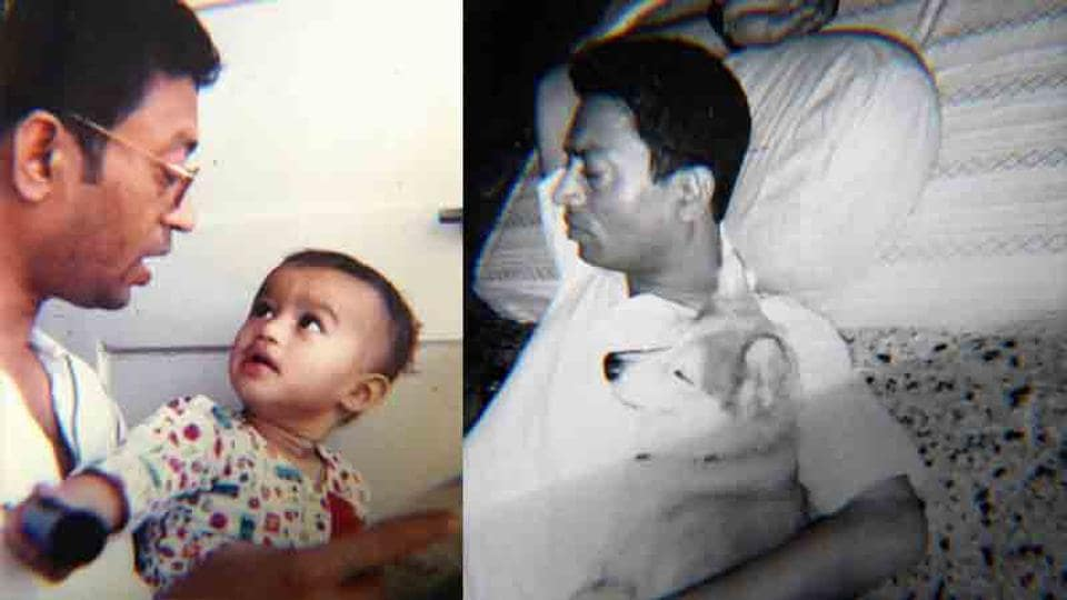 Irrfan Khan's son Babil has shared two rare pictures from his personal album along with a note on Indian cinema.